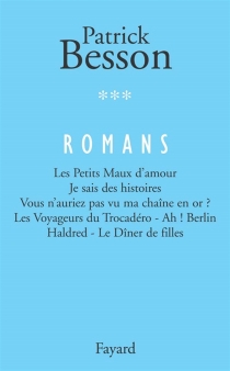 Romans | Volume 3 - Patrick Besson