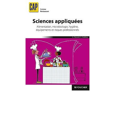 Sciences appliqu es cap cuisine restaurant alimentation - Cours sciences appliquees bac pro cuisine ...