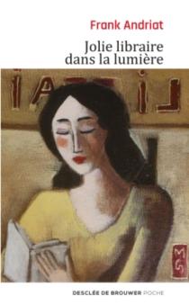 Jolie libraire dans la lumière - FrankAndriat