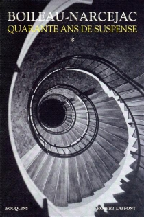 Quarante ans de suspense | Volume 1 - PierreBoileau