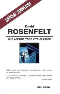 Une affaire trop vite classée - DavidRosenfelt