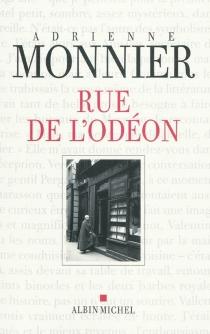 Rue de l'Odéon - AdrienneMonnier