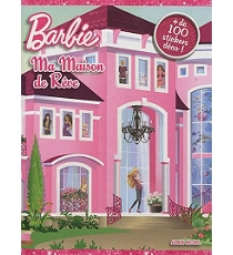 barbie ma maison de r ve autocollants stickers et gommettes espace culturel e leclerc. Black Bedroom Furniture Sets. Home Design Ideas