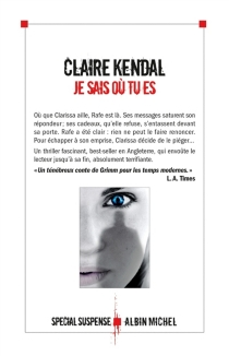 Je sais où tu es - ClaireKendal