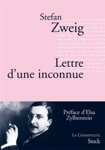 Lettre d'une inconnue - StefanZweig
