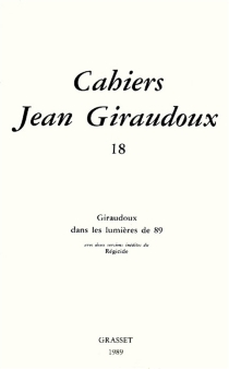 Cahiers Jean Giraudoux, n° 18 -