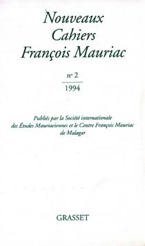 Nouveaux cahiers François Mauriac, n° 2 - FrançoisMauriac