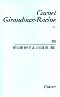 Carnet Giraudoux-Racine, n° 2 - Fondation Jean et Jean-Pierre Giraudoux