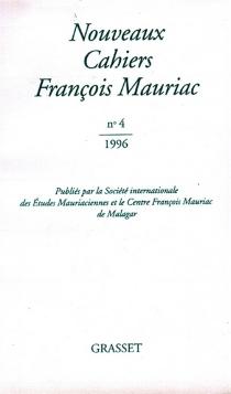 Nouveaux cahiers François Mauriac, n° 4 -