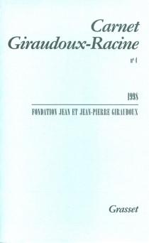 Carnet Giraudoux-Racine, n° 4 -