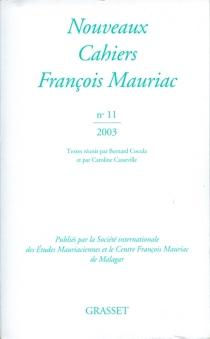 Nouveaux cahiers François Mauriac, n° 11 - FrançoisMauriac