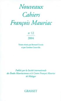 Nouveaux cahiers François Mauriac, n° 12 - FrançoisMauriac