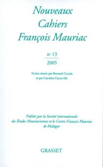 Nouveaux cahiers François Mauriac, n° 13 -