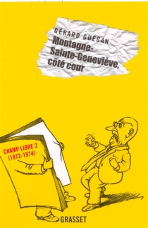 Editions Champ libre - GérardGuégan