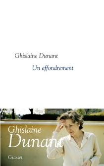 Un effondrement - GhislaineDunant