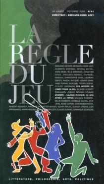 Règle du jeu (La), n° 41 -