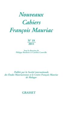 Nouveaux cahiers François Mauriac, n° 19 -