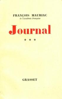 Journal - FrançoisMauriac
