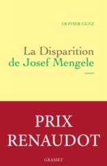 La disparition de Josef Mengele - OlivierGuez