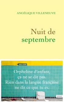 Nuit de septembre - AngéliqueVilleneuve