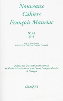 Nouveaux cahiers François Mauriac, n° 23 -