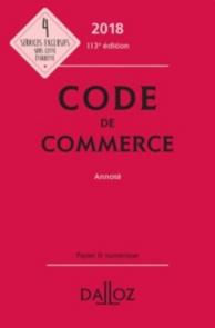 Code de commerce 2018, annoté