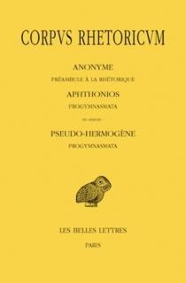 Corpus rhetoricum | Volume 1 - Aphtonius