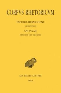 Corpus rhetoricum | Volume 3 -