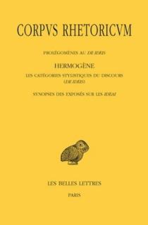 Corpus rhetoricum | Volume 4 - Hermogène de Tarse