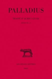 Traité d'agriculture - RutiliusPalladius