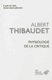 Physiologie de la critique - AlbertThibaudet