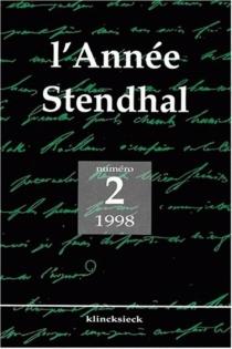Année Stendhal (L'), n° 2 -