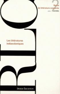Revue de littérature comparée, n° 318 -