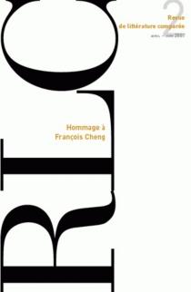 Revue de littérature comparée, n° 322 -