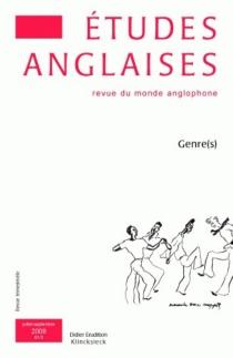 Etudes anglaises, n° 3 (2008) -