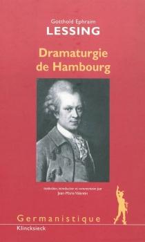 Dramaturgie de Hambourg - Gotthold EphraimLessing