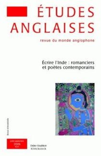 Etudes anglaises, n° 62-3 -