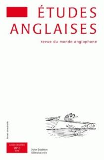 Etudes anglaises, n° 63-4 -