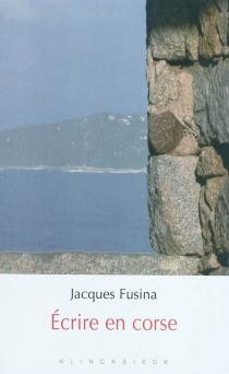 Ecrire en corse - JacquesFusina