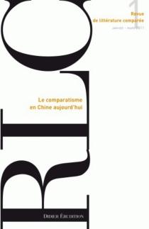 Revue de littérature comparée, n° 337 -