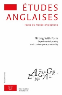 Etudes anglaises, n° 65-2 -