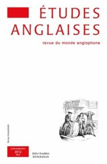 Etudes anglaises, n° 65-3 -