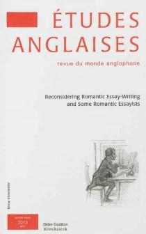 Etudes anglaises, n° 66-1 -