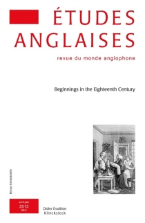 Etudes anglaises, n° 66-2 -