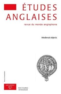 Etudes anglaises, n° 66-3 -