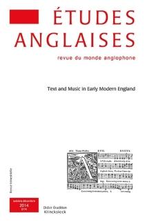 Etudes anglaises, n° 67-4 -