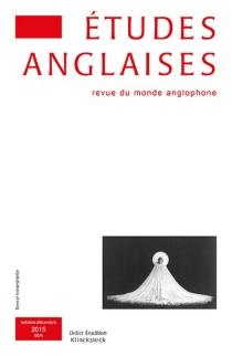 Etudes anglaises, n° 68-4 -