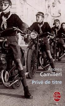 Privé de titre - AndreaCamilleri