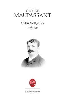 Chroniques - Guy deMaupassant