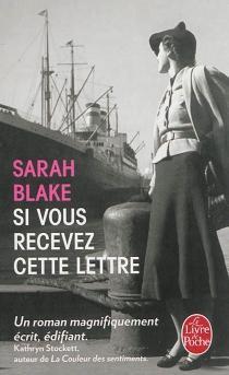 Si vous recevez cette lettre - SarahBlake